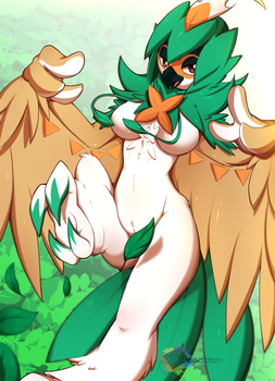 Decidueye by RainbowScreen
