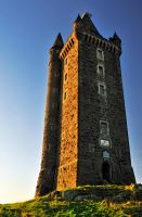 Scrabo Tower after Sunrise III by Gerard1972