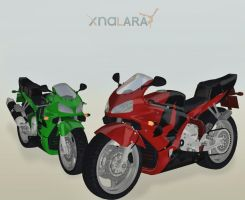 Honda Motorcycle by deexie