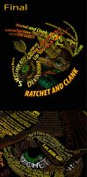 Ratchet Text Art by Caco-holic