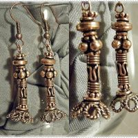 Aztec Dangle Earrings by KCarey