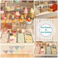 Littlest Ice Cream Counter by LittlestSweetShop