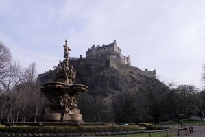 Edinburgh Castle by Beachrockz4eva