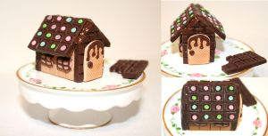 Chocolate House by PetiteWishes