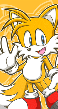 Tails default by Ahyuck