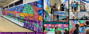 Beekman Elementary Mural by dehydrated1