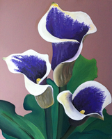 Picasso Calla Lilies by SkywardMeganium