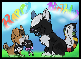 Happy Birthday Courtney bbe by Sockune