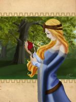 lady of the woods by bgo80