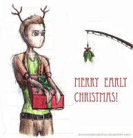Happy merry early Glee chirstmas by HorizontalProjection