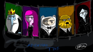 Adventure Time by diggitfireball