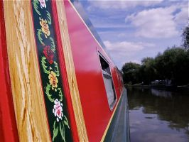 Narrowboat by CKPhotos