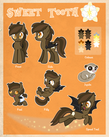 Sweet Tooth Ref Sheet by sugarstitch