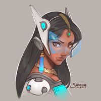 Symmetra by simoneferriero
