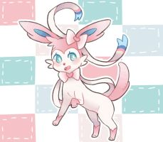 Sylveon by EnglishSandwich