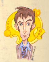 10th Doctor by sn0otchie