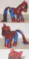 Spiderman Pony by PoniesOfDOOOM