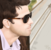 Misha Collins by matsuoAyame