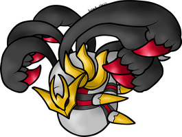 Giratina by AbyssinChaos