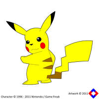 Pikachu Ready To Fight by NS-Games