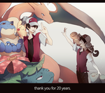 20 Years of Pokemon by Dragons-Roar
