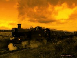 Steam Locomotive II by LadyWen