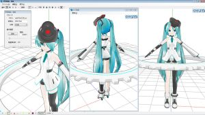 MMD Cyber Gear Miku done by Xenosnake