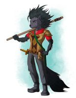 Carrie Tunbar, the Porcupine Messenger by Nellufy