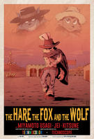 The Hare, the Fox and the Wolf by FOX-POP