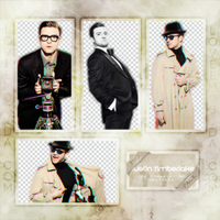 JUSTIN TIMBERLAKE  PNG Pack #1 by LoveEm08