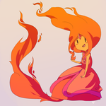 Flame Princess by vanilla-beanie