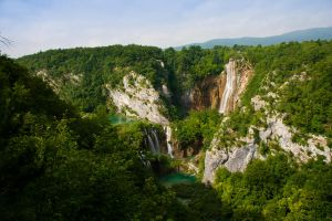 Plitvice green VI by DeviantTeddine