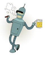 Futurama: Bender by Cocodoo
