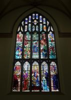 Dunfermline Abbey stained glass #5 by High-Tech-Redneck