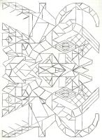 Graph paper art oct 15th by estabane