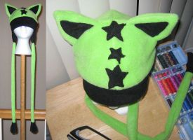 Star kitty hat by malytwotails