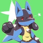Lucario by tails224
