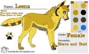 Official Leena Ref by LeaveItToVi