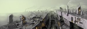Cloudy City 2 by DrMan