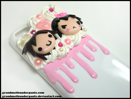 Levi and Eren 5c Case by GrandmaThunderpants