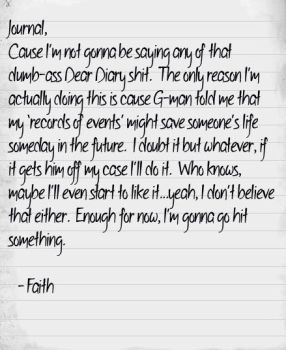 Faith Journal Entry 1 by Her-Beta