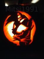 Twilight Skellington Carving by Mitsi1991