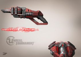 Unreal Tournament - Translocator Concept Art1 Red by Sly-Mk3