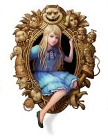 Alice in Wonderland by Huyen-n00b