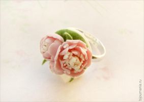 Ring Pink Peonies by allim-lip