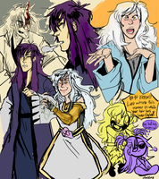 COLORED SKETCH PAGE FOR ASHLMET by chvckles