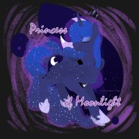 Princess of Moonlight by twilidramon