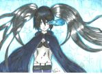 Black Rock Shooter- Copics by kawaiikanye