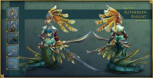 Dota2 - Naga Siren Slithereen Knight Final by Anuxinamoon