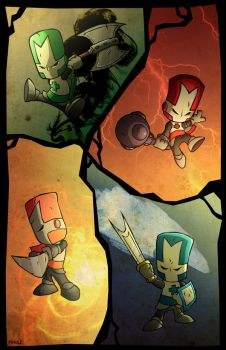 Castle Crashers by Veritas-a-Aequitas